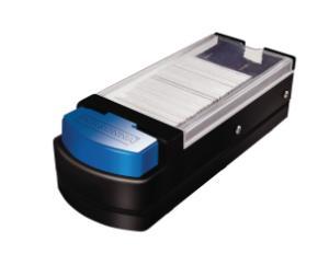 GEM® Uncoated 3-Facet Single Edge Blades and Dispenser, Accutec Blades