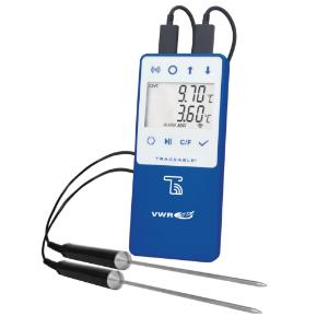 VWR® TraceableLIVE™ Wi-Fi Datalogging Refrigerator/Freezer Thermometers with Remote Notification