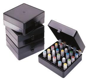 VWR® Light-Sensitive Cryo Storage Box, 100-Place