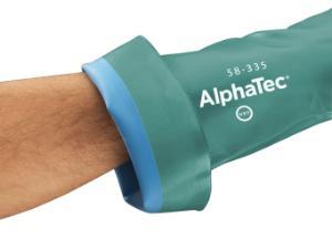 AlphaTec® Nitrile Gloves, with AQUADRI® Technology