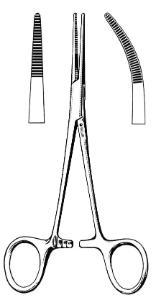 Econo™ Kelly Hemostatic Forceps, Floor Grade, Sklar