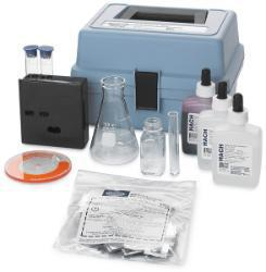 Hardness and Iron Color Disc Test Kit, Model HA-77, Hach