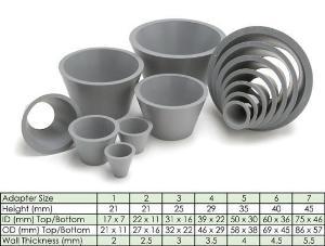 Filter Adapters, Neoprene, Chemglass
