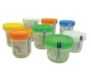 VWR® Specimen Containers with Dual Click
