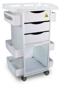 MRI Core DX Railed, White, TrippNT