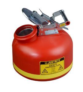 Nonmetallic Liquid Disposal Cans, Justrite®