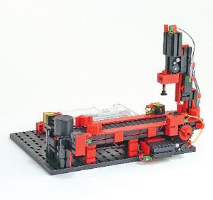 Fischertechnik Punching Machine with Conveyor Belt | VWR