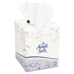 Georgia Pacific Angel Soft ps Premium White Facial Tissue