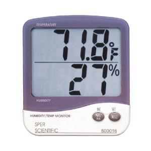 Humidity/Temperature Monitor, Sper Scientific