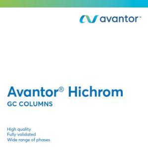 Avantor® Hichrom GC columns