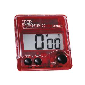 Large Display Bench Timer, Sper Scientific