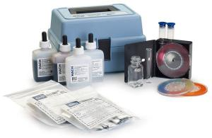 Chlorine, Hardness, Iron, and pH Test Kit, Model CN-39WR, Hach