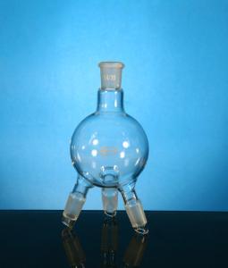Distilling Receiver, without Hose Connection, Glassco
