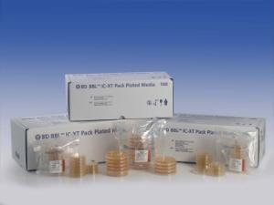 BBL™ Isolator Cleanroom, eXtended Temperature (IC-XT) TSA Plates, Sterile Packs, BD Diagnostics