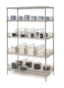 Super Erecta® Wire Shelving, Chrome-Plated, Metro™