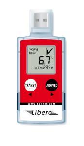 LIBERO Te1-N/NY USB Data Loggers for Refrigerator/Lab Freezer Monitoring, ELPRO