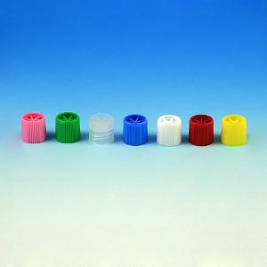 Screw Caps for Sample Tubes, without O-Ring, Globe Scientific