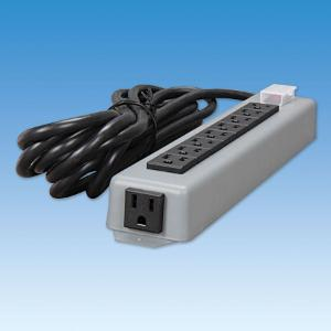 Power Outlet Strip, Nine Outlets, Ace Glass