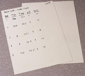Nalgene® Polyolefin Plastic Paper Sheets
