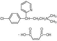 Chlorpheniramine Maleate ≥99.0% (by HPLC, titration analysis)