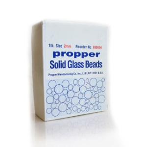 Chemical Glass Beads, Propper Manufacturing