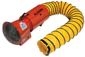 DC Axial Blowers with Canister, Allegro®