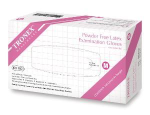 Latex Exam Gloves Powder-Free Tronex