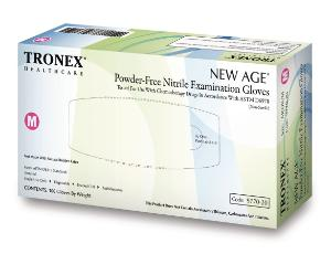 "Nitrile ""NEW AGE"" Chemo-Rated Exam Gloves Fingertip-Textured Powder-Free Tronex"