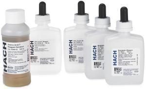 Silica Reagent Set, Ultra Low Range, Bulk Solution, Hach