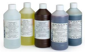 Fluoride Standard Solution, 1.0 mg/L as F (NIST), 500 mL, Hach