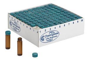 Storage/Reaction Vials with Closure, Chemglass