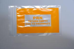Pharmacy Reclosable Bags