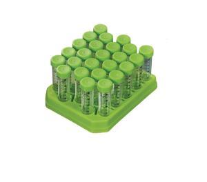 Freestanding Specimen and Centrifuge Tubes, Polypropylene, with Plug Seal Caps
