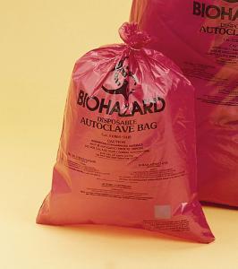 SCIENCEWARE® Heavy-Duty Biohazard Disposal Bags, Bel-Art
