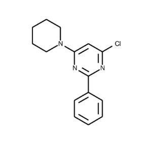 4-Chloro-2-phenyl-6-piperidinopyrimidine ≥95%