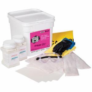 PIG® Base Neutralizing Spill Kit in Bucket, New Pig