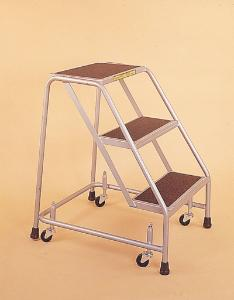 Steel Rolling Safety Ladders