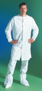 DuPont™ Tyvek® IsoClean® Frocks with Bound Neck and Set Sleeves