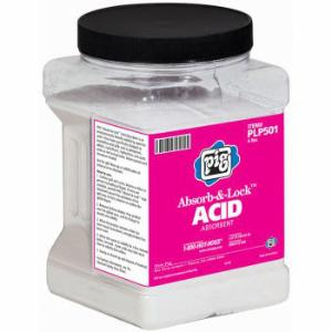 PIG® Absorb-and-Lock® Acid Absorbent, New Pig