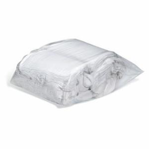 WorkWipes® New White Terry Washcloth Seconds in Bag, New Pig