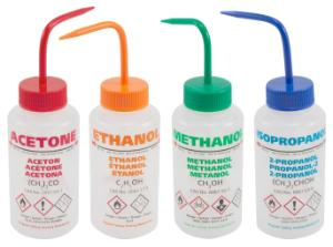 Multi-lingual Wide Mouth Wash Bottles