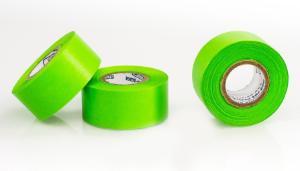 Bel-Art Write-On Yellow Label Tape; 40yd Length Width Pack of 3 F13485-0100 1 in Core 3 in