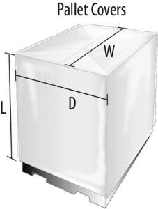 VWR® Poly Sheeting / Pallet Top Sheets, 1.5 mil
