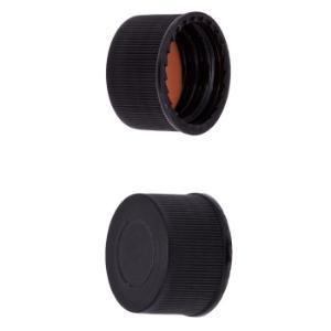 Caps 13 mm screw solid red-orange/tef