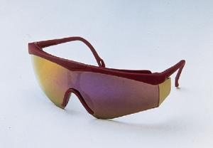 JACKSON SAFETY 14464 V50 Cudas Safety Glasses Black Frame And Clear