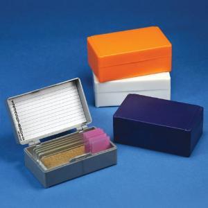 Microscope Slide Storage Boxes For 12 Slides, Globe Scientific