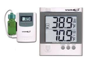 VWR® Traceable® Wireless Radio-Signal Refrigerator Thermometer