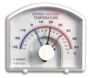 DURAC® Bi-Metallic Min./Max. Thermometer, H-B Instrument