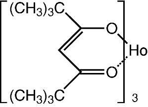 Tris(2,2,6,6-tetramethyl-3,5-heptanedionato-O,O')holmium(III)