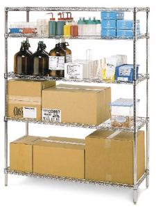 Super Erecta® Wire Shelving, Stainless Steel, Metro™